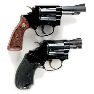 Lot consists of: (A) Model 37 Airweight