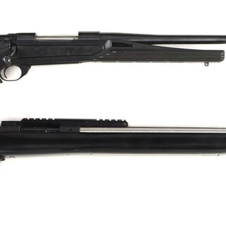 Lot consists of: (A) Howa Model 1500 features a custom...