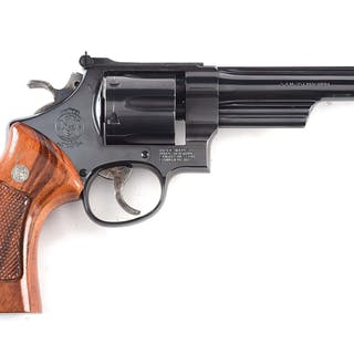 Top of the line Smith & Wesson revolver featuring high...