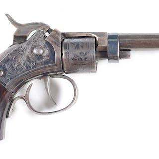 Offered is a fine condition Massachusetts Arms revolver