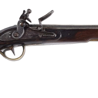 Prior to the Virginia Manufactory being able to produce pistols on its own