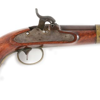 Sometimes referred to as a Model 1843 Navy pistol
