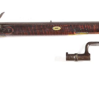 In the style of an 1814 rifle