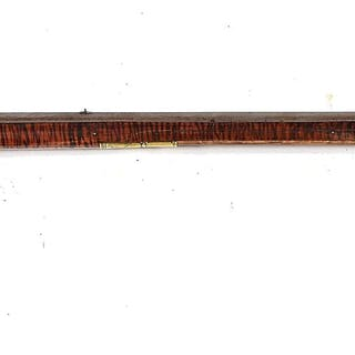 """This rifle is signed """"Peter Moll Hellerstown No"""