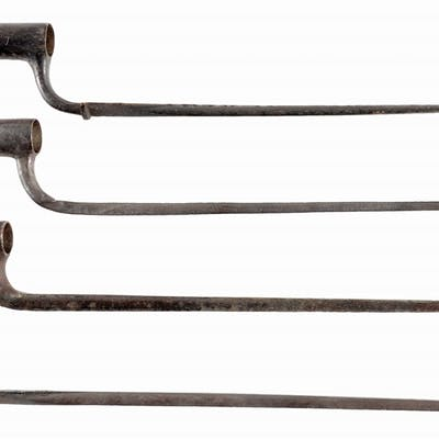 LOT OF 4: REVOLUTIONARY WAR PERIOD BAYONETS  | Barnebys