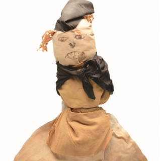 "This 16"" (41cm) cloth doll"