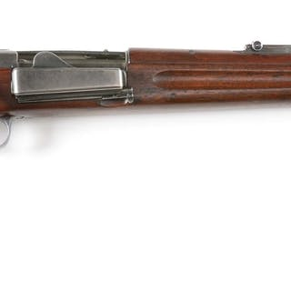The last carbine of the Krag production was the first to...