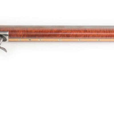 Underhammer muzzleloading target rifle made by C.K
