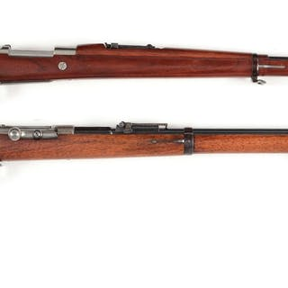Lot consists of: (A) 1909 model Argentine Mauser rifle made by DWM