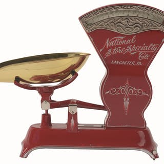 This is a beautiful scale with a total and professionally done restoration