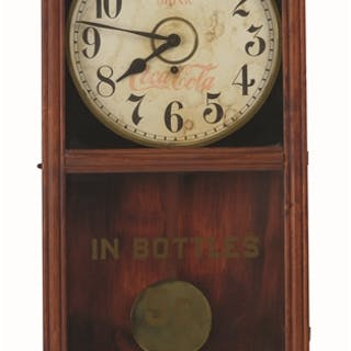 Complete with pendulum and key and displays well with...