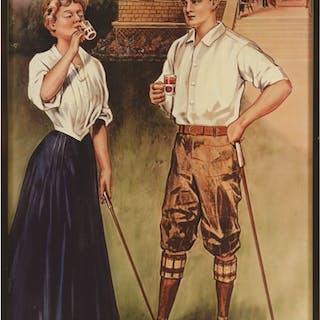 Early Golfing Couple