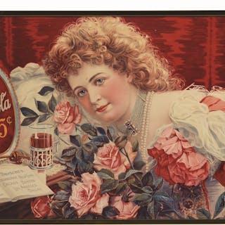 Hilda Clark with Roses