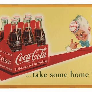 Litho in USA and features a rarely-seen image with Sprite Boy and six-pack