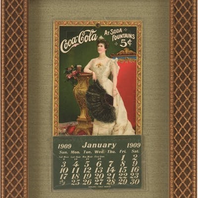 This version features a beautiful and complete 1909...