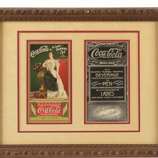 Beautifully matted and framed under glass with a...