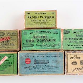 (A) Winchester box of
