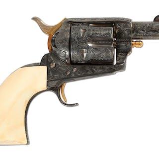 Custom built black powder era Colt Single Action Army by Remera Masco Inc