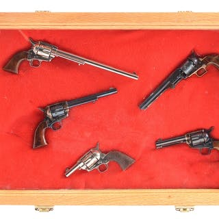 Quality built collection of miniature Colt working model...