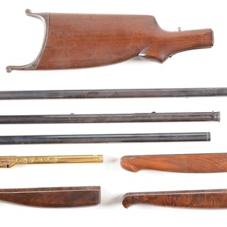 Lot consists of: (A) Stevens 44/44-1/2 target buttstock