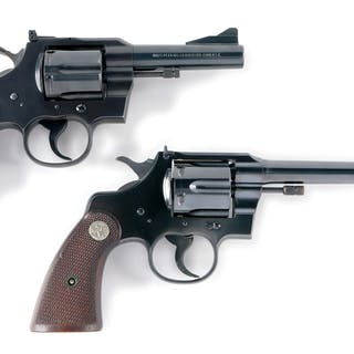 Lot consists of: (A) 1st Series Colt Trooper .357 serial...