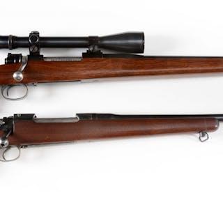 Lot consists of: (A) Custom Remington Model 1917