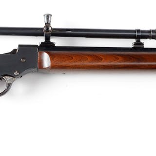 """Rifle has the round """"Walnut Hill"""" stamped barrel"""