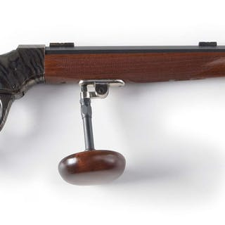 This custom rifle sports a CPA 44-1/2 action with an...