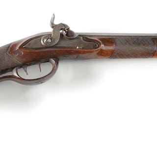 This stellar little 1830's single shot short rifle...