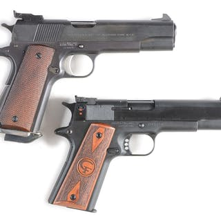 Lot consists of: (A) Custom 1911 built on an Essex frame