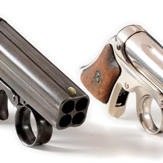 Lot consists of: one of each model in .22 and 32 rimfire