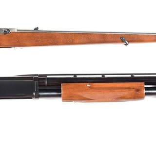 Lot consists of: (A) Ruger 10-22 semi-automatic...