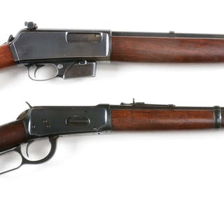 Lot consists of: (A) Model 1910 semi-automatic made in 1911