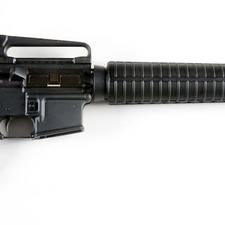 Typical AR-15 platform rifle with composition stocks and...