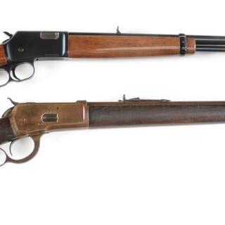 Lot consists of: (A) Browning lever action carbine