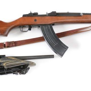 Lot consists of: (A) Ruger Mini-30