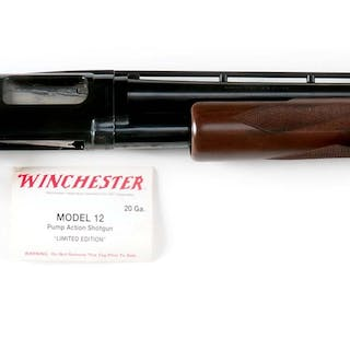 This is basically a new in box modern Model 12 with vent rib barrel