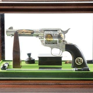 1982 Colt John Wayne Commemorative Deluxe Single Action...