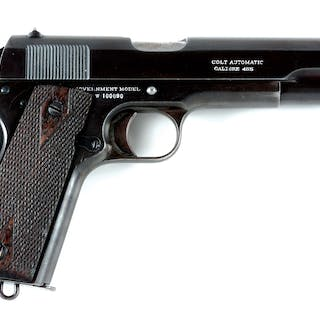 This gun was part of a shipment of 300 pistols to Captain...