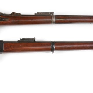 Lot consists of (A) US Springfield Model 1884