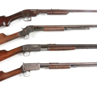 Lot consists of (A) Savage Model 1914
