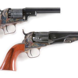 Lot consists of (A) Baby Dragoon (B) Model 1862 Pocket Police