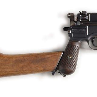 Standard production C96 Broomhandle Mauser pistol