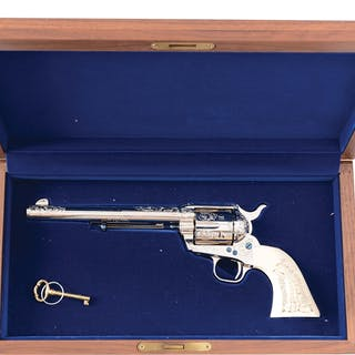 This outstanding Colt Frontier Six Shooter was...