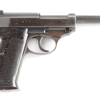 Early ac 40 code P.38 pistol by Walther