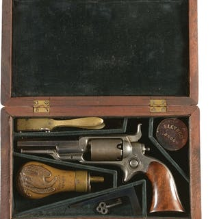 Colt Model 1855 Sidehammer pocket revolver