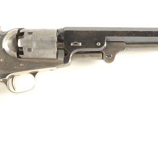 Very fine Liege Belgium assembled 1851 Colt Navy Brevete revolver