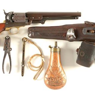 "About 900 Colt Model 1851 ""KM"" (Konigliche Marine) Navy..."