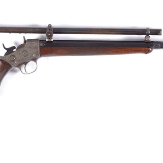 This is an exceedingly rare and high condition special ordered Remington Model 7