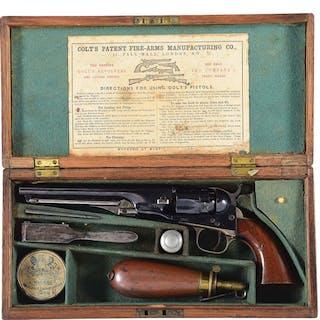 High condition full blue finish Model 1862 Colt Pocket Police